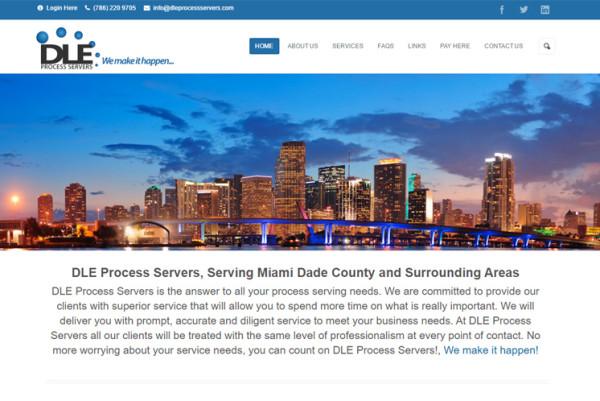 Cliente: DLE Process Servers