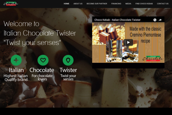 Cliente: Italian Chocolate Twister LLC